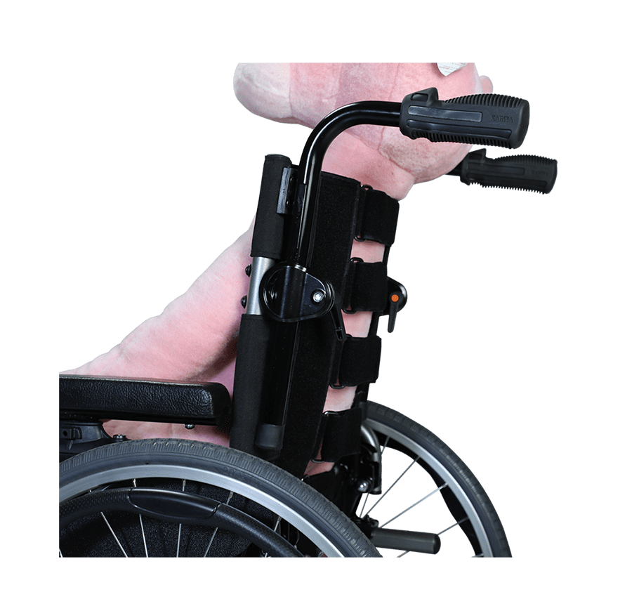 Flexx Junior Karma Medical Jr Foldable Travel Bag Wide 21 The Seat To Back Angle Is Adjustable From 4 16 Degree Backrest Frame Ergonomic And Compatible With A Range Of Aftermarket Backrests