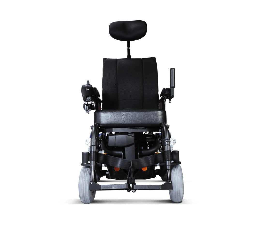 Magnificent Leon Sling Rear Wheel Drive Power Wheelchair Karma Medical Theyellowbook Wood Chair Design Ideas Theyellowbookinfo