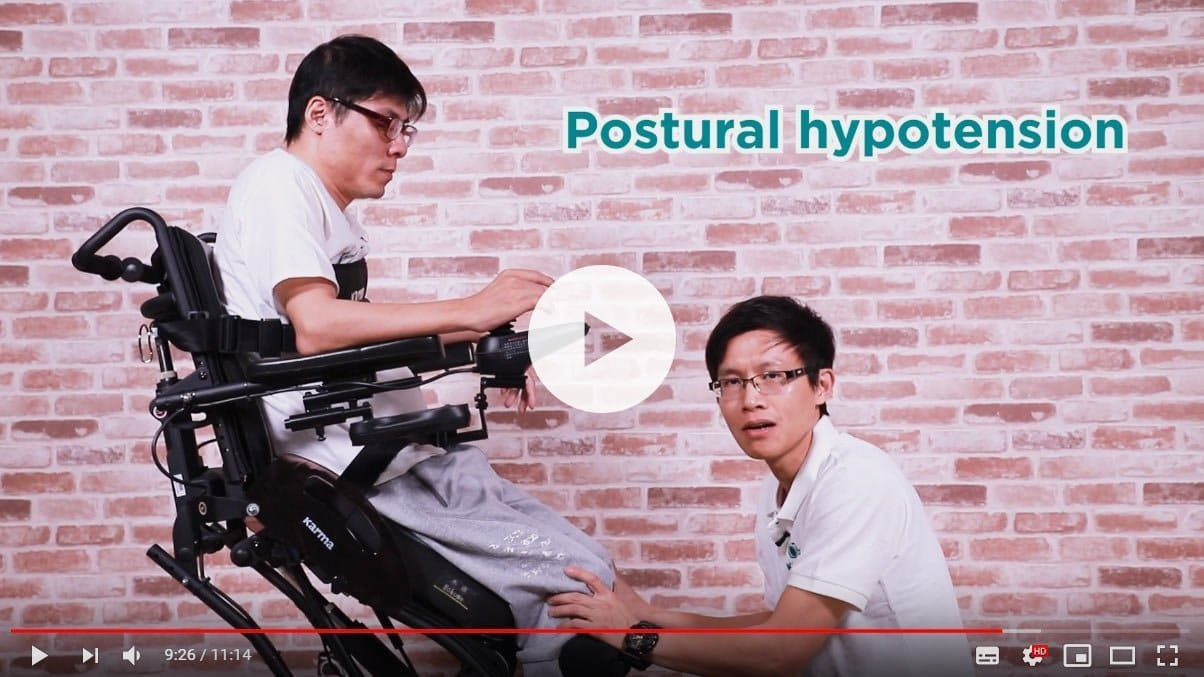 How to prepare Ergo Stand power wheelchair