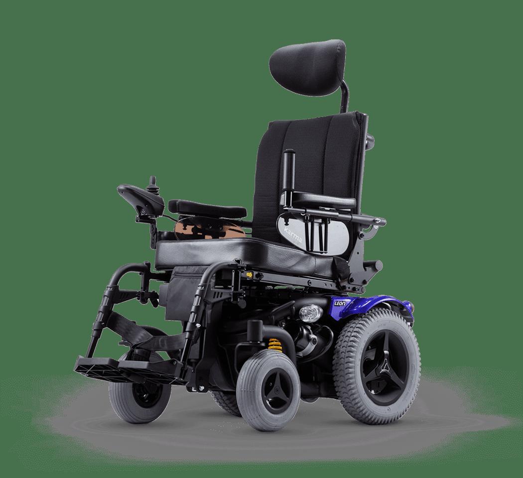 LEON SLING Rear Wheel Drive Power Wheelchair   Karma Medical