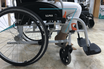 how elderly user's can adapt the wheelchair