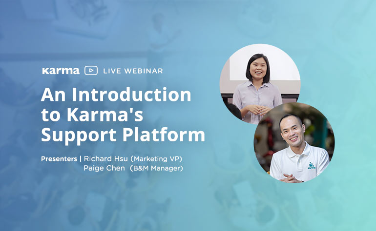 Webinar: ​An Introduction to Karma's Support Platform