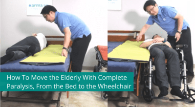 How To Move the Elderly With Complete Paralysis, From Bed to Wheelchair
