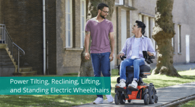 Power Tilting, Reclining, Lifting, and Standing Electric Wheelchairs