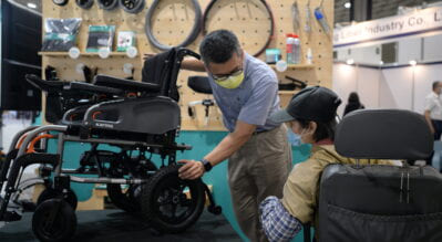 The Hit of 2021; Assistive Technology Expo in Taipei, Taiwan