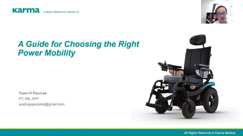 A Guide for Choosing the Right Power Mobility