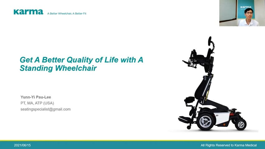 Get A Better Quality of Life with A Standing Wheelchair